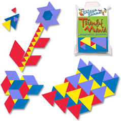 Photo of TriangleMania puzzle.