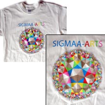 SIGMAA-ARTS Polygons T-shirt
